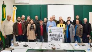 Audiencia publica para discutir a seguranca publica em Pedro Osorio no dia 24 de junho de 2016.