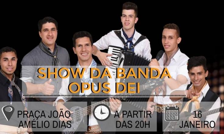 Cerrito recebe show da Banda Opus Dei